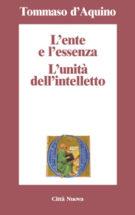 Copertina L'ente e l'essenza – L'unità dell'intelletto