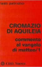 Copertina Commento al Vangelo di  Matteo/1
