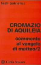 Copertina Commento al Vangelo di  Matteo/2