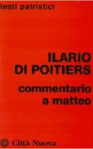 Copertina Commentario a Matteo