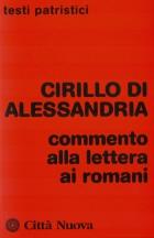 Copertina Commento alla lettera ai Romani