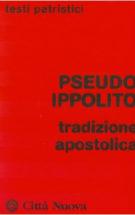 Copertina Tradizione apostolica