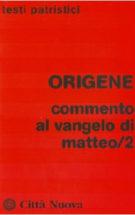 Copertina Commento al Vangelo di Matteo /2