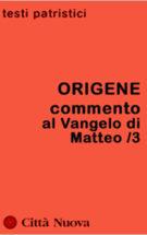 Copertina Commento al Vangelo di Matteo /3