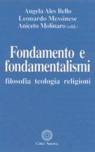 Copertina Fondamento e fondamentalismi