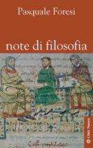Copertina Note di filosofia