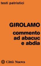 Copertina Commenti ad Abacuc e Abdia