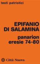 Copertina Panarion – eresie 74-80 – Compendio della fede