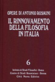 Il rinnovamento della filosofia in Italia