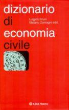 Copertina Dizionario di economia civile
