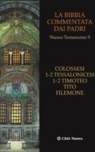 Copertina Colossesi, 1-2 Tessalonicesi, 1-2 Timoteo, Tito, Filemone