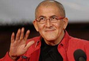 Antonio Garcia, capo negoziatore del gruppo di ribelli Eln in Colombia