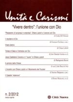 """""""Vivere dentro"""": l'unione con Dio"""
