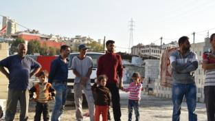 La quotidianità in un campo di rifugiati
