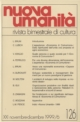 Novembre-Dicembre 1999