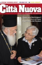 Il patriarca Bartolomeo I riceva al Fanar la presidente dei Focolari