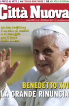 Benedetto XVI la grande rinuncia