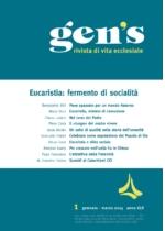 Eucaristia: fermento di socialità