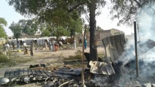 Bombardato campo profughi, 52 morti