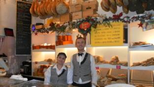 A Firenze il fornaio che dona non solo sorrisi