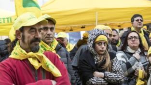 Terremoto, la protesta di allevatori e agricoltori