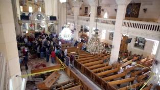 I copti vittime di un duplice attentato