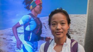 La bimba soldato diventata trail runner