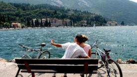 La stupenda ciclabile del Lago di Garda