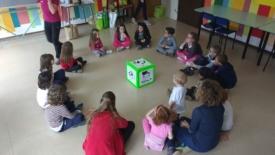 Bambini e ragazzi volontari ecologici