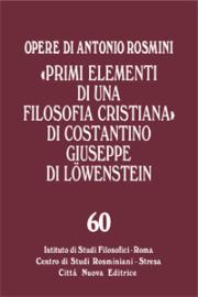 """Primi elementi di una filosofia cristiana"" di Costantino Giuseppe di Loewenstein"