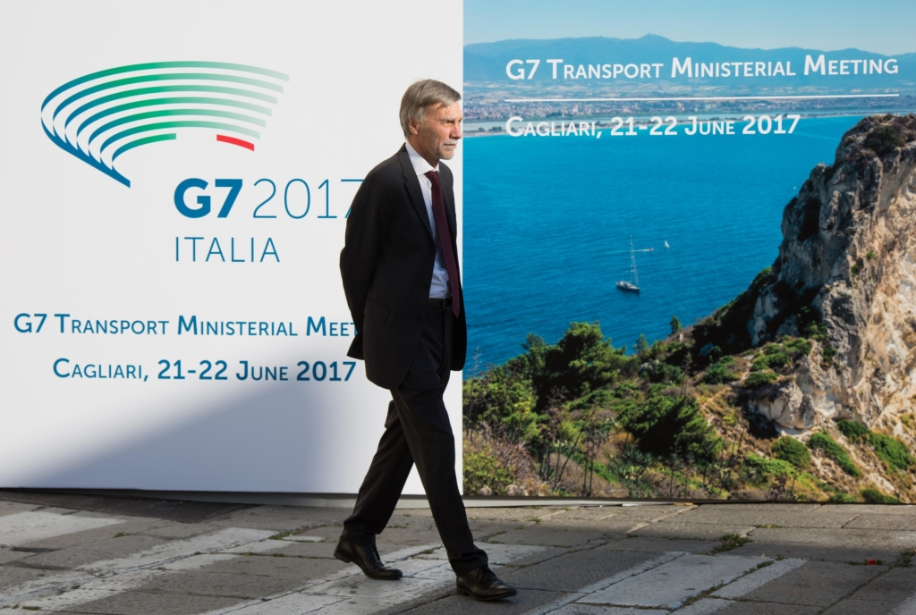 Transport G7 Meeting in Cagliari, Italy