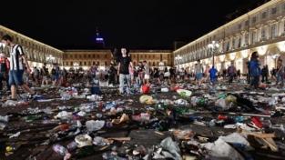 In piazza a Torino tra terrore e solidarietà