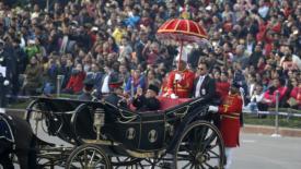 Pranab Mukherjee lascia la presidenza dell'India