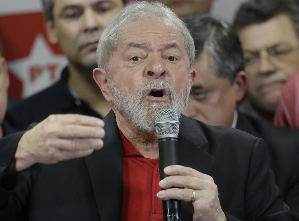 Il presidente brasiliano Lula da Silva