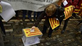 20-S, Catalogna in piazza