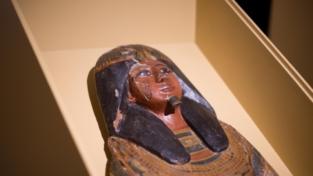 Il restauro in diretta dei sarcofagi egizi