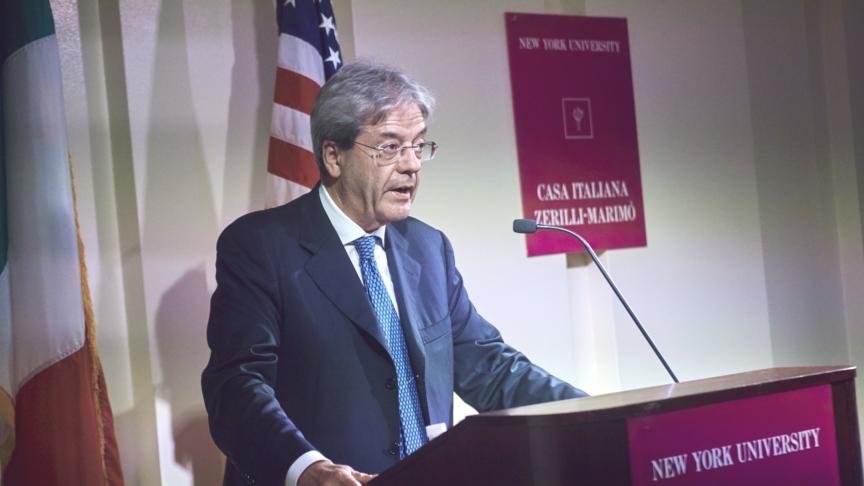 L'Italia multilaterale di Gentiloni