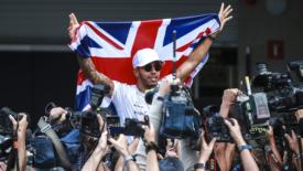 Lewis Hamilton nell'Olimpo della Formula 1