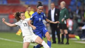 Mondiali di calcio: l'Italia femminile c'è