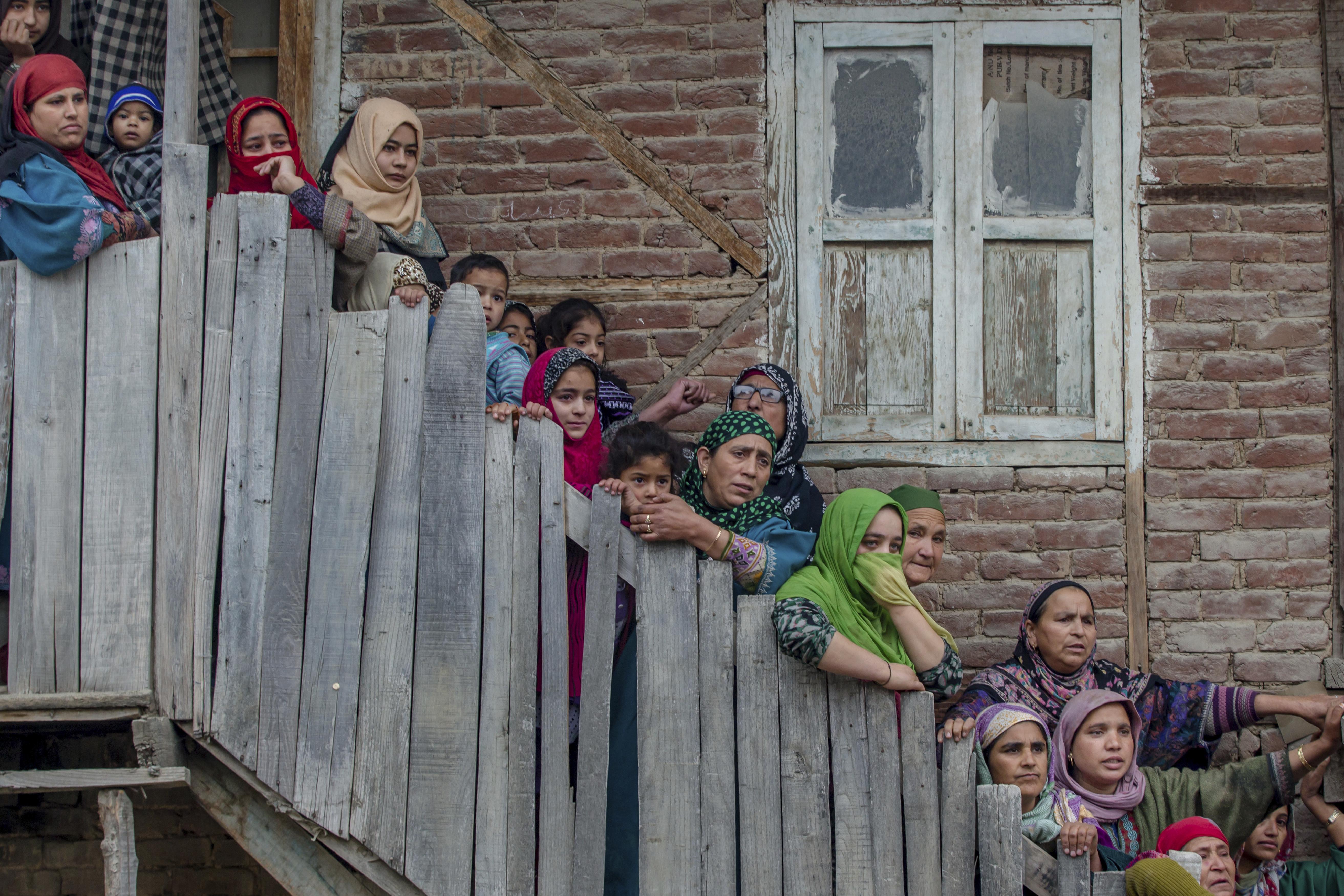 Guerriglia in Kashmir