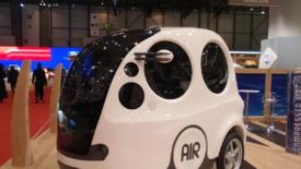 La prima auto ad aria compressa