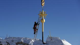 La croce della Zugspitze