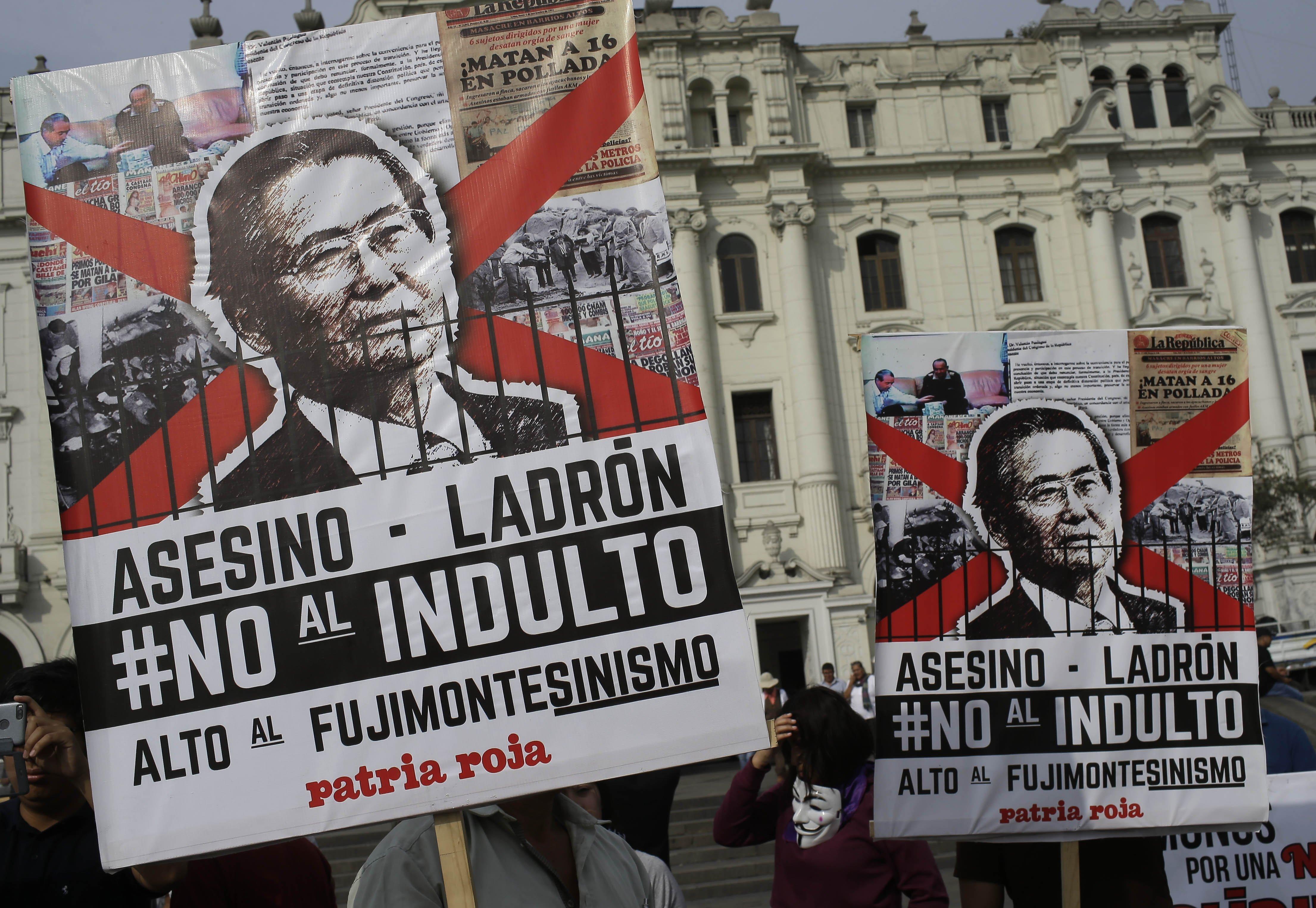Peru Fujimori Released