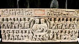 Il più antico presepe di marmo