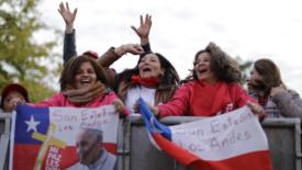 Papa in Cile, una chiesa del popolo