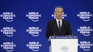 La Cina a Davos