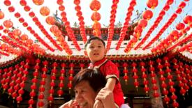 Il capodanno cinese fuori dalla Cina