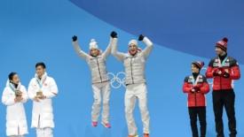 Aliona e la tanto attesa medaglia d'oro