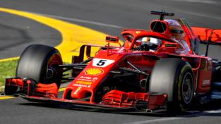 Ferrari da sogno: Vettel trionfa in Australia