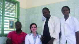 Centro medico gratuito in Burkina Faso